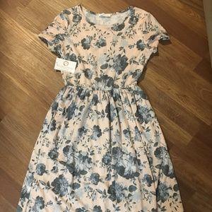 Soft Floral Dress